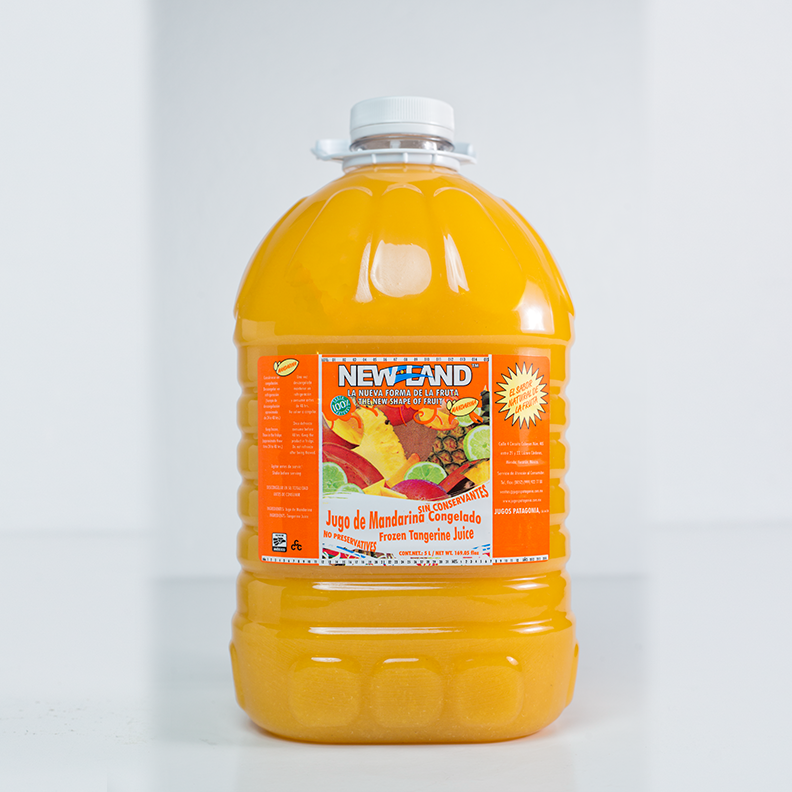 Jugo de mandarina congelado New Land