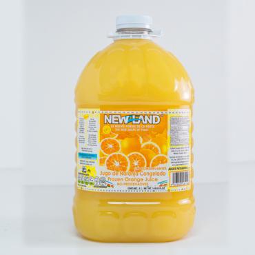 Jugo de naranja congelado New Land