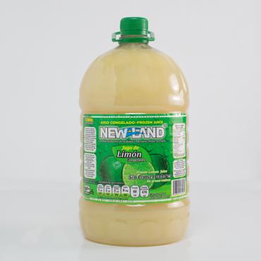 Jugo de limón congelado New Land